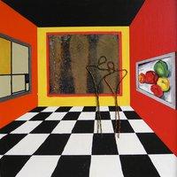 På museum med zink, O´Keeffe og Mondrian